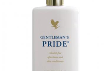 קרם אפטר שייב עם אלוורה (70) Gentleman's pride